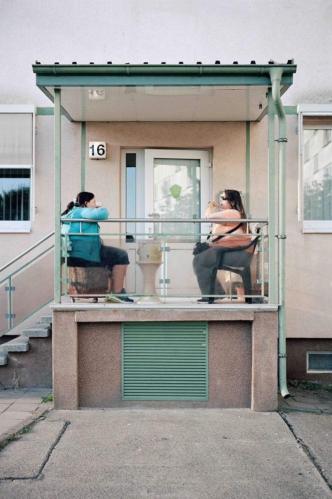 """Dreesch, 2016_17 (Foto: © Norman Hoppenheit, 1. Preis im Vonovia Award für Fotografie 2018 in der Kategorie """"Beste Fotoserie"""")"""