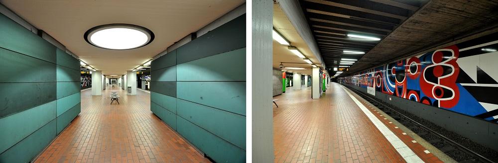 Hannover-Hauptbahnhof, Inbetriebnahme: 26. September 1975, Stadtbahnlinien: 1, 2, 3, 7, 8, 9, 18 (Bild: Hartmut Möller, 2020)