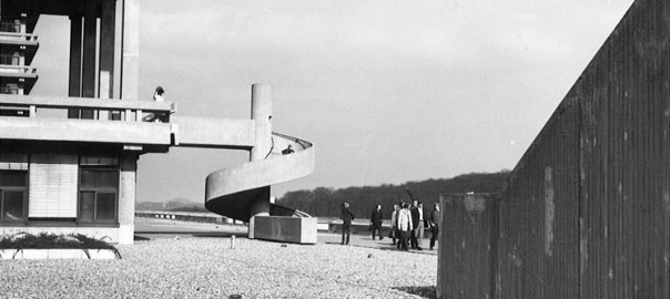 Bochum, Universität, Naturwissenschaftliches Institut (Eller-Moser-Walter, 1972) (Bild: Universitätsarchiv , Dep. Staatl. Bauamt Bochum 02, 72.0593, Copyright: Bau- und Liegenschaftsbetrieb NRW)