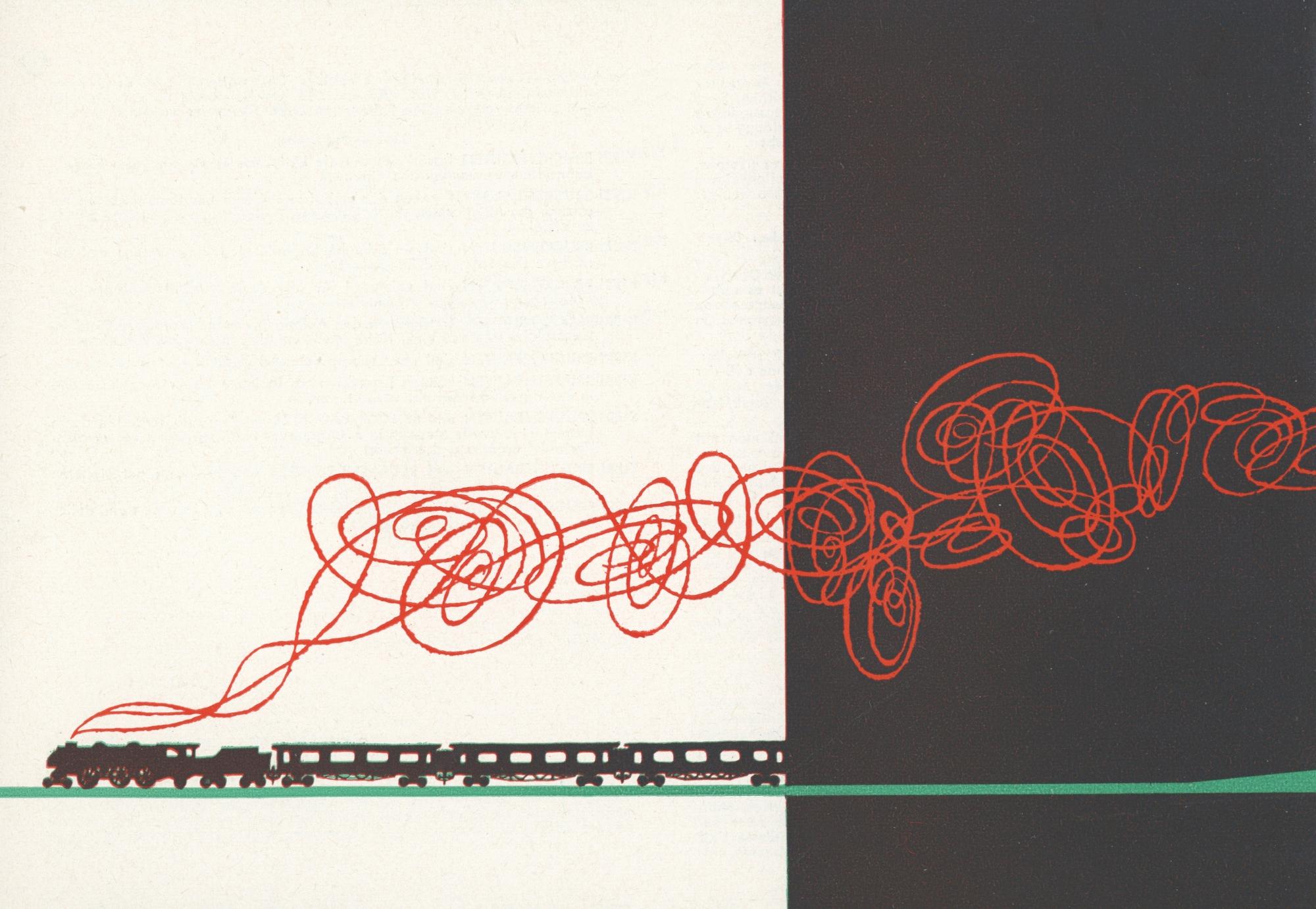 Als Werbung noch eine Kunst war (Bildquelle: Kibri-Katalog 1960)