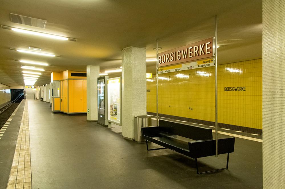 "Berlin, U-Bahnstation ""Borsigwerke"" (Bild: Sven Heinrichs)"