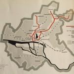 Auch die dampfgetriebenen Vorortstecken sollten elektrifiziert werden (Bild: U-Bahn-Bau in Hamburg, Hamburg 1961, S. 4, Archiv F. Grundmann)