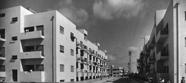 Tel Aviv, Cooperative Housing, Frishman Street, 1934-36 (Bild: Archiv Arieh Sharon)Tel Aviv, Cooperative Housing, Frishman Street, 1934-36 (Bild: Archiv Arieh Sharon)