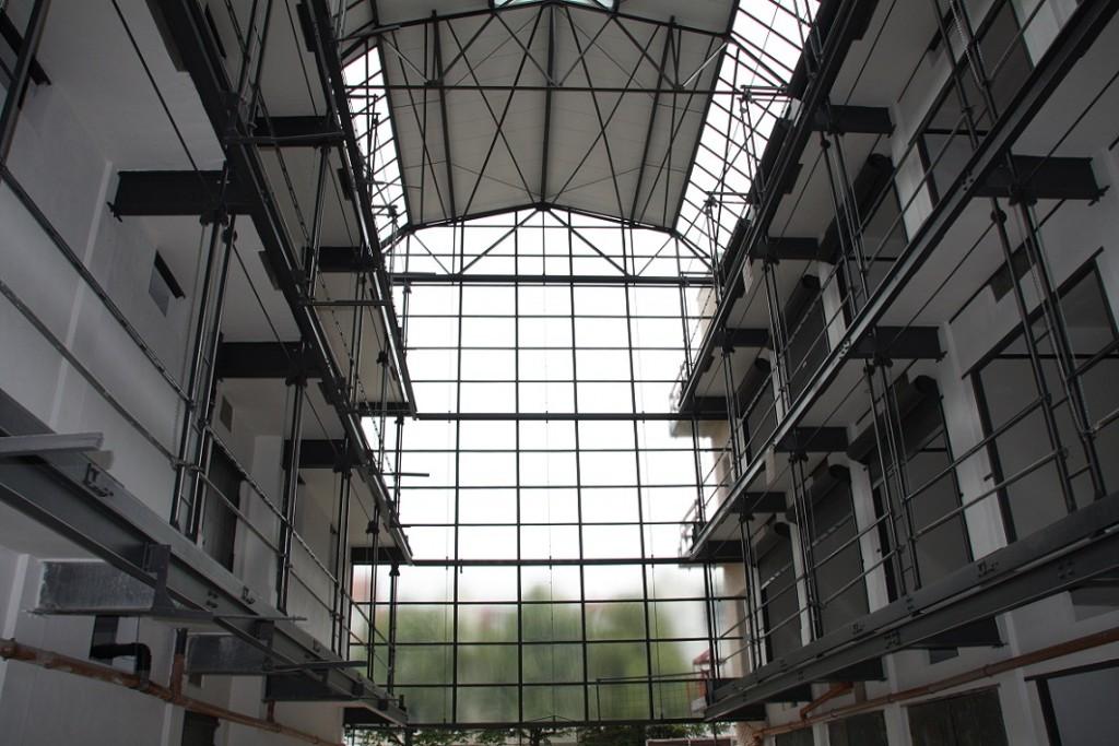 Großgarage Halle Süd (Bild: S. Huke)