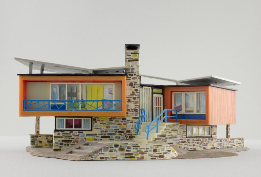 """Faller-Modell """"Villa im Tessin"""" (Foto: Hagen Stier)"""