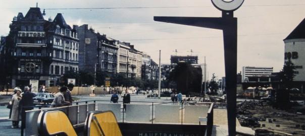 Hamburg, U-Bahn-Station am Hauptbahnhof (Bild: Archiv F. Grundmann)