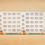 Boris Jofan: Typenentwurf für ein industriell vorgefertigtes Wohngebäude (1958) (Bildquelle: Staatliches Ščussev-Museum für Architektur, Moskau)