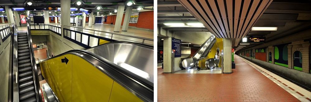 Hannover-Aegidientorplatz, Inbetriebnahme: 26. September 1982, Stadtbahnlinien: 1, 2, 4, 5, 6, 8, 11, 16, 18 (Bild: Hartmut Möller, 2020)