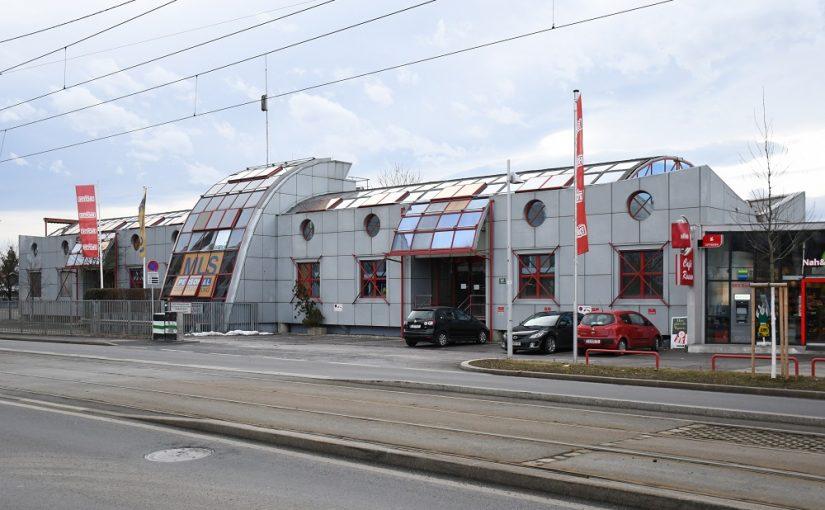 Graz, Bürogebäude (Atelier Schiefer, 1987–1990) (Bild: Jakob Bock/Darlene Pudil)