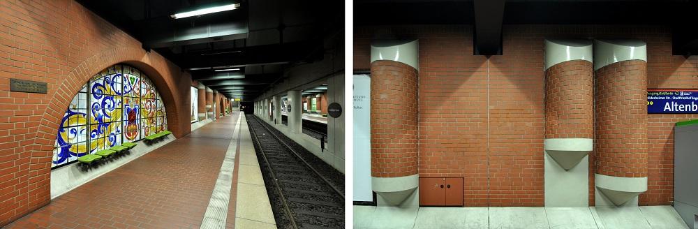 Hannover-Altenbekener Damm, Inbetriebnahme: 26. September 1982, Stadtbahnlinien: 1, 2, 8, 18 (Bild: Hartmut Möller, 2020)