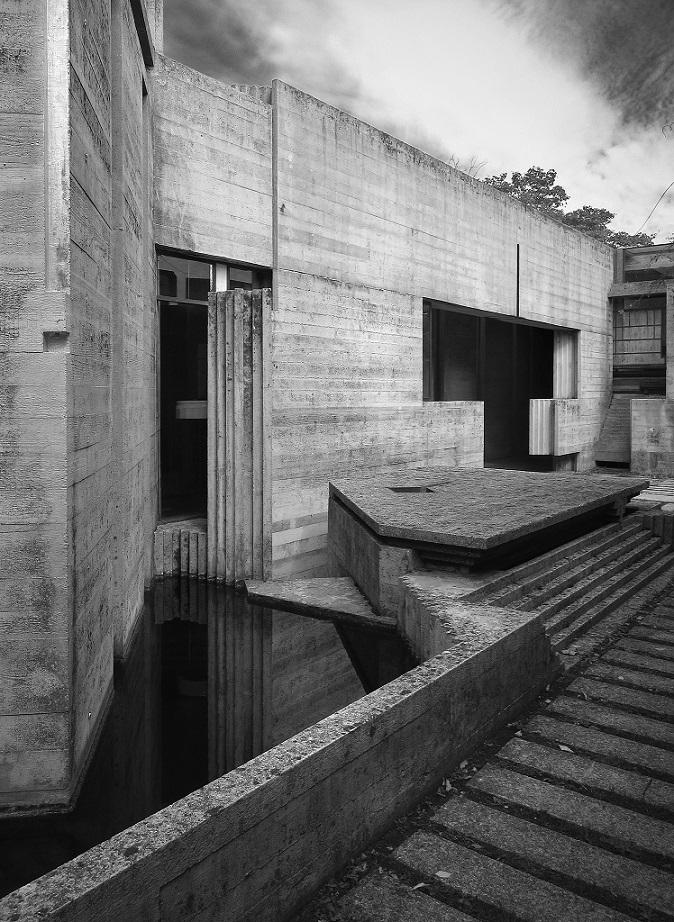 Friedhof Brion in San Vito d'Altivole (Carlo Scarpa, 1969-78) (Bild: Chris Schroeer-Heiermann)