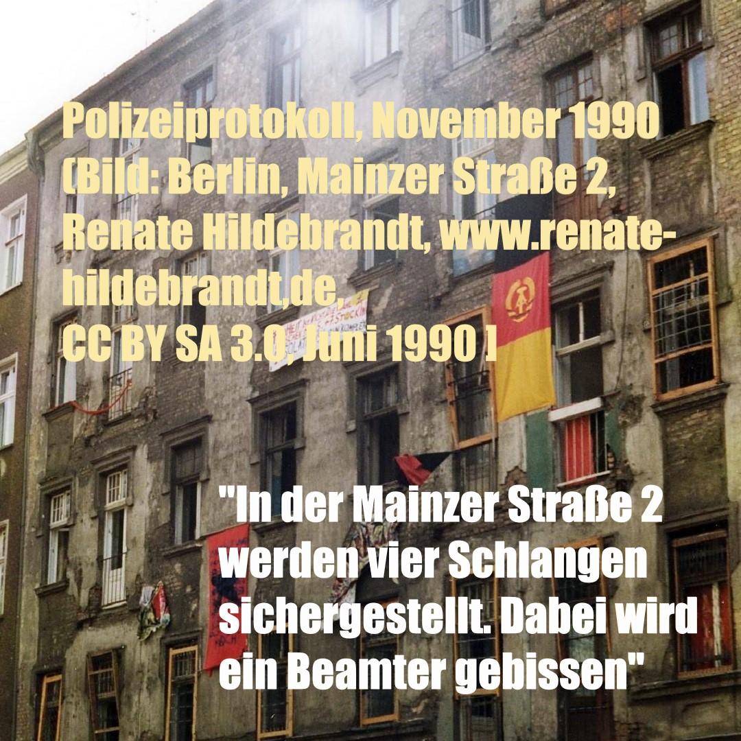 Berlin, Mainzer Straße 2, Juni 1990 (Bild: Renate Hildebrandt, CC BY SA 3.0)