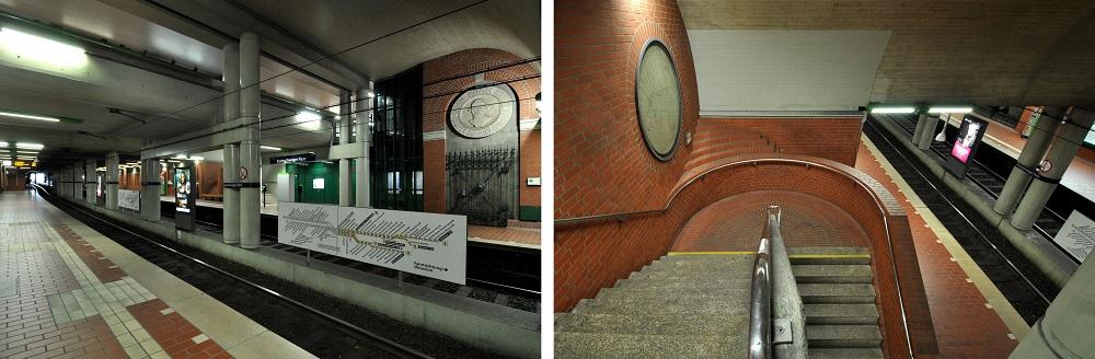 Hannover-Braunschweiger Platz, Inbetriebnahme: 24. September 1989, Stadtbahnlinien: 4, 5, 11, 16 (Bild: Hartmut Möller, 2020)