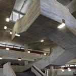 Skulpturale Treppen aus Beton