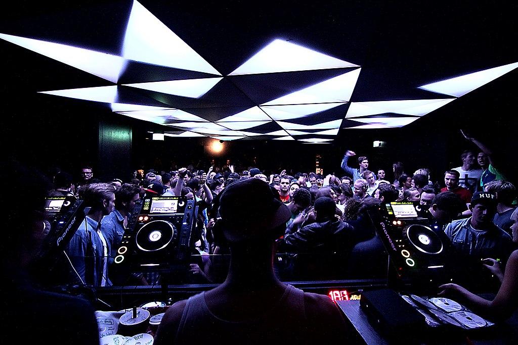 München, Lightshow im Bob Beaman (Bild: Arnold Jaeger Werner, CC BY SA 2.0, via flickr.com, 2014)