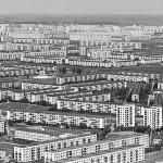Luftbild des Wohnbezirks Graždanka in Leningrad, 1977 (Bild: V. Nikitin/RIA Novosti)