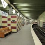 """Der U-Bahnhof """"Klosterstern"""", in den 1980er Jahren vom Büro Grundmann rekonstruiert, war 1929 eingeweiht worden (Bild: K. Berkemann)"""