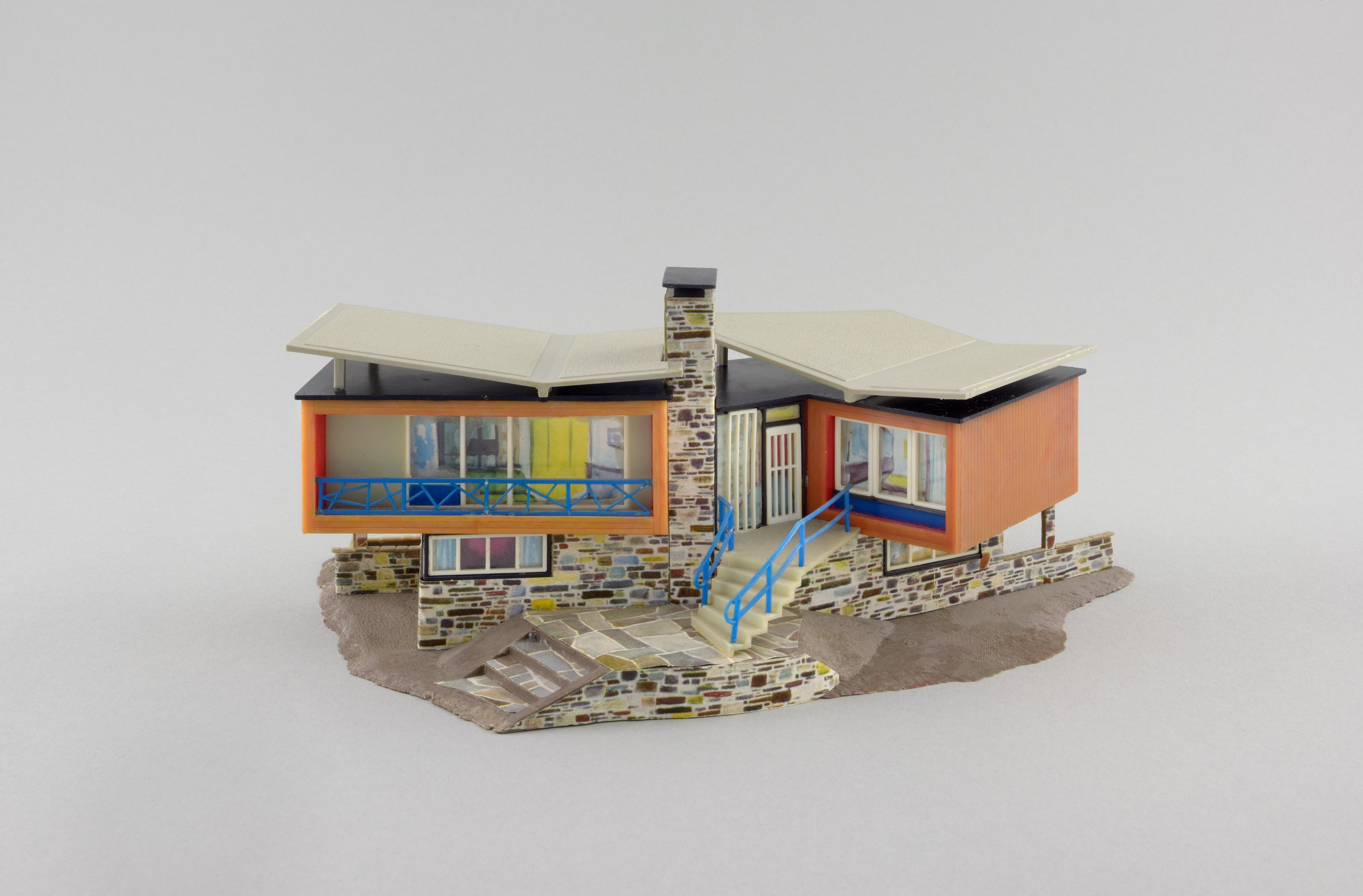 """Das Faller-Modell """"Villa im Tessin"""" (seit 1961) (Copyright: Gebr Faller GmbH)"""
