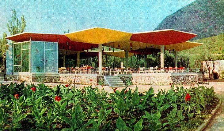 Pionierlager Artek, Speisesaal Olive, 1964
