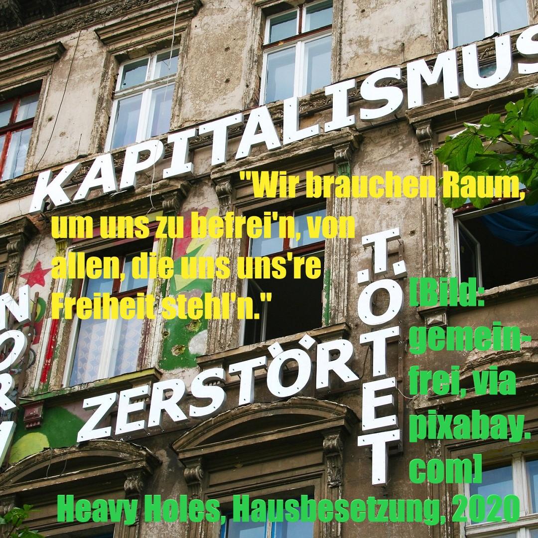 Besetztes Haus (Bild: gemeinfrei, via pixabay.com)