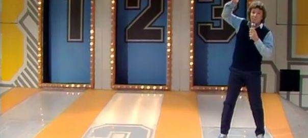 """1,, 2 oder 3"" mit Michael Schanze (Bild: Screenshot, youtube.de)"
