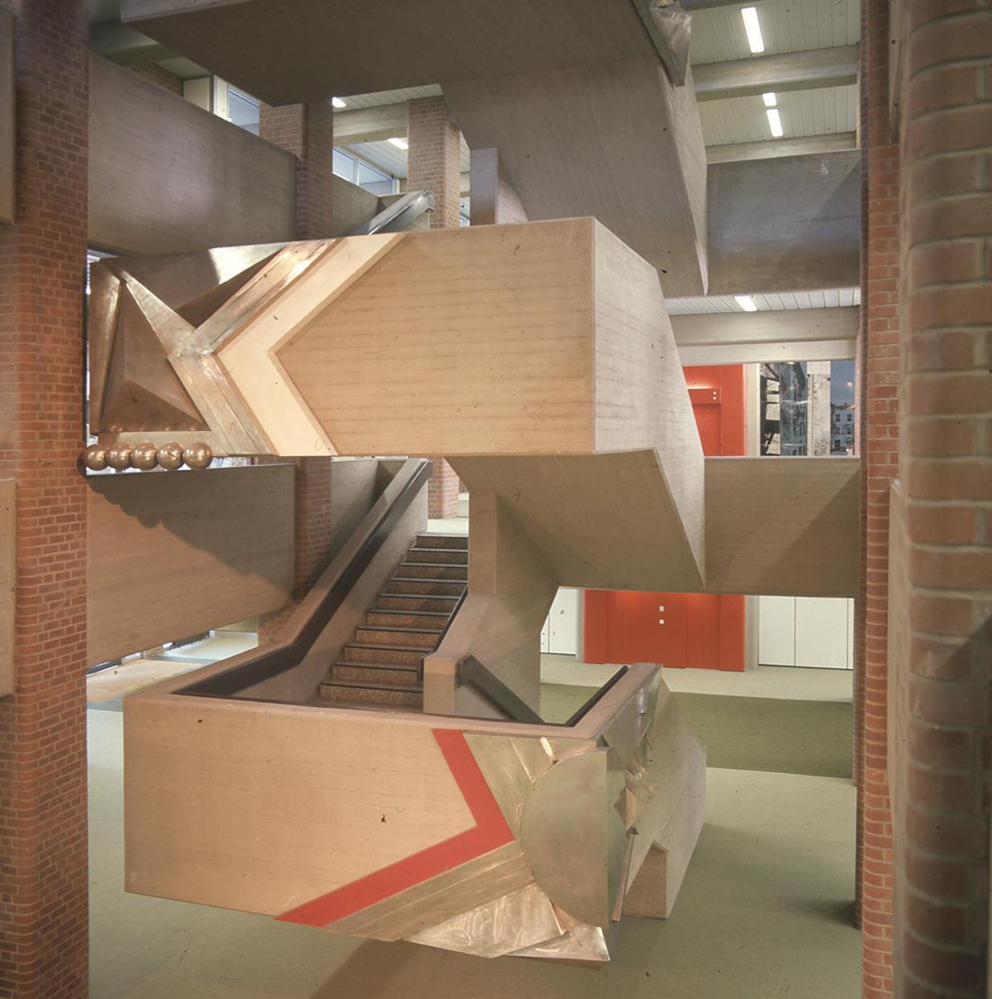 Berlin, Französisches Gymnasium (Entwurf: Pysall und Rollenhagen, Realisierung Architekten PJS, 1966–1974) (Bild: SAIB G124)