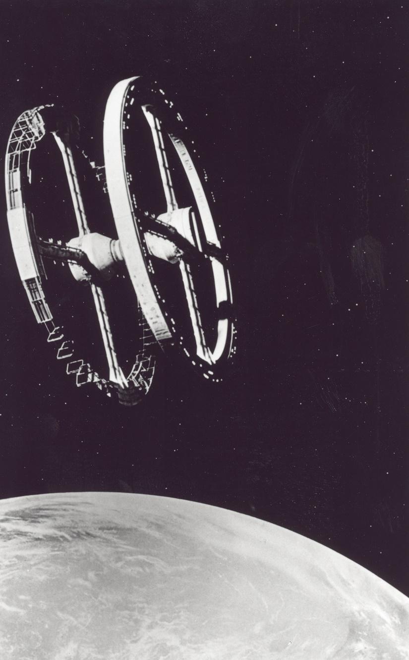 """2001: Odyssee im Weltraum"" (Bild: NASA, gemeinfrei, via wikimedia commons)"
