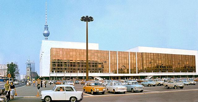 Berlin, Palast der Republik (Bild: 1977, Scan: Istvan)