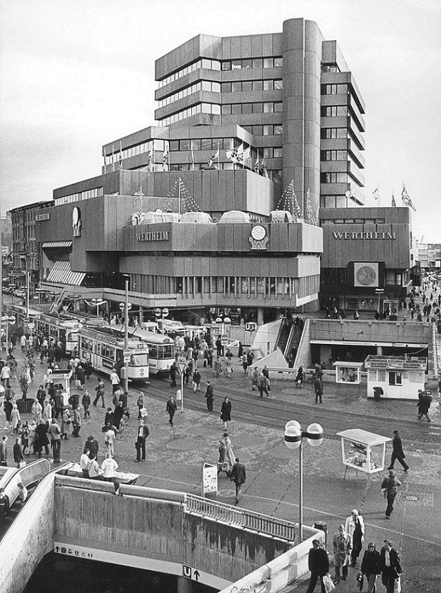 Hannover, Kröpcke, Ende der 1970er Jahre (Bild: Historisches Museum Hannover, Foto: Heinrich Weber)