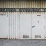 Offenbach, Gothaer-Haus, Eingang zum Müll-Raum (Bild: D. Bartetzko/J. Reinsberg)