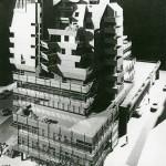 Offenbach, Gothaer-Haus, Modell, 1975 (Bild: P. Opitz)