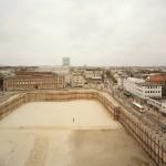 """Es war einmal das """"frappant"""". Die Baugrube von IKEA anstelle des """"frappant"""" (Bild: Johanna Klier)"""