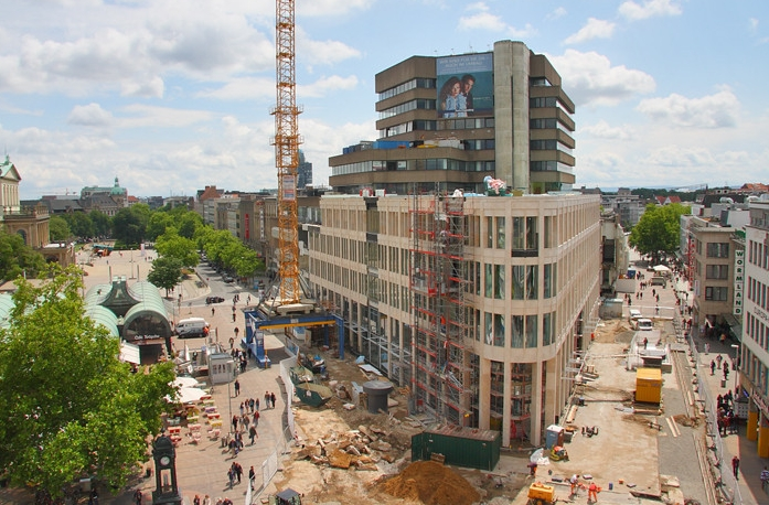 Hannover, Kröpcke, Baustelle, 2011 (Bild: Landeshauptstadt Hannover)