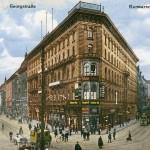 Hannover, Kröpcke (Bild: historische Postkarte, Scan: Bernd Schwabe)