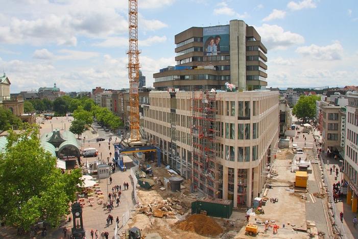 Hannover, Kröpcke, Neubau (Bild: Landeshauptstadt Hannover)