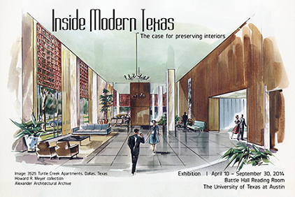 Inside Modern Texas (Bild: University of Texas/Austin's Architecture & Planning Library)