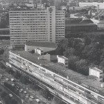 Berlin, Bikini-Haus, Luftbild (Bild: Archiv Paul Schwebes, 1990er Jahre)
