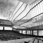Das Auditorium in Le Corbusiers Entwurf (Bild: kitchener.lord)