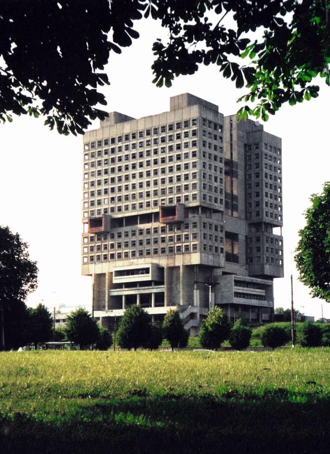 Das Haus der Sowjets in Kaliningrad ist heute eine Bauruine (Bild: Volkov Vitali)