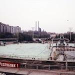 Das Schwimmbad Moskva entstand auf dem Sockel des nie umgesetzten Palasts (Bild: Frmaschek)Das Schwimmbad Moskva entstand auf dem Sockel des nie umgesetzten Palasts (Bild: Frmaschek)