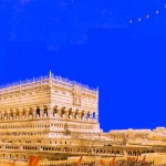 Schukos monumentaler Entwurf für den Palast (Bild: PD)