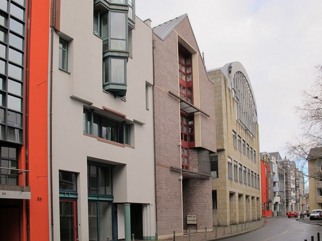 Gleicher Standplatz 2015: die Frankfurter Saalgasse nach Osten (Bild; Daniel Bartetzko)