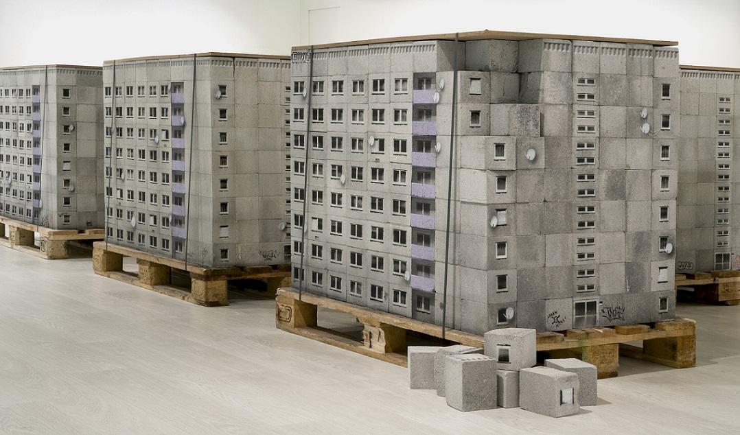 """Blocked Delivery II"""", Evol, 2017. Im Rahmen der Ausstellung ..."""
