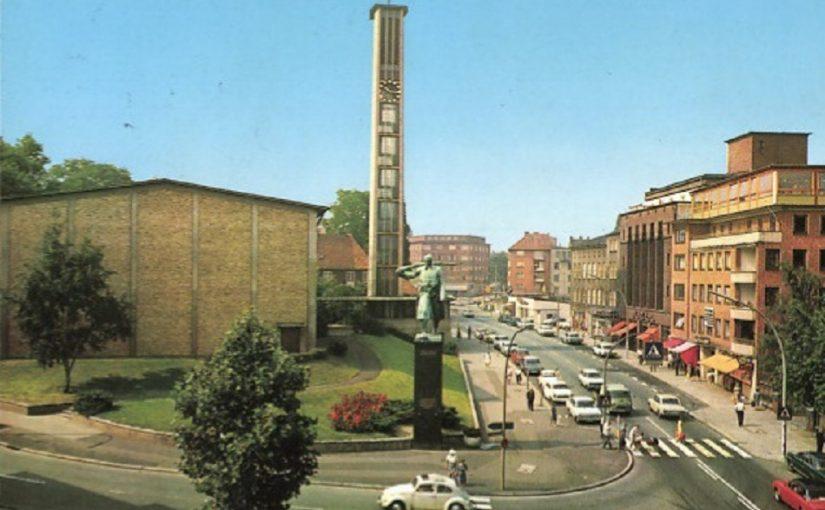 Hamburg-Harburg, Johanniskirche (Bild: historische Postkarte)