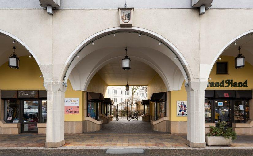 Berlin, Altstadtplatte im Nikolaiviertel (Bild: Anne Herdin, Landesdenkmalamt Berlin)
