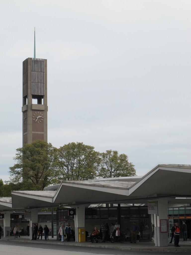 """Heinz Graaf gestaltete 1960 den Bus- und U-Bahnhof """"Wandsbek Markt"""" (Bild: K. Berkemann)"""