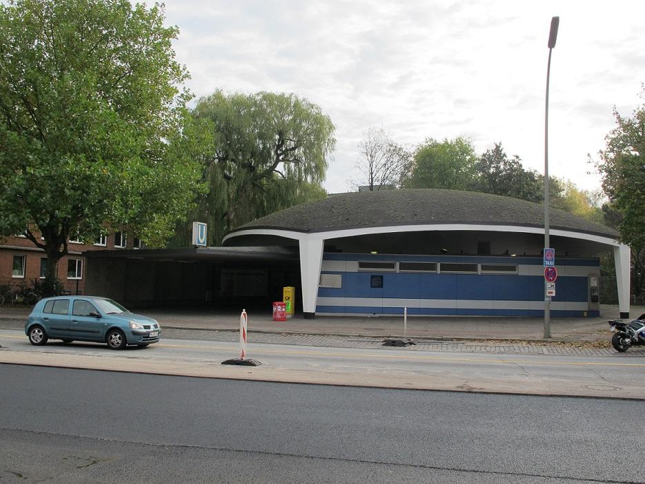 Heute steht die sanierte Kuppelhalle an der Lübecker Straße unter Denkmalschutz (Bild: K. Berkemann)