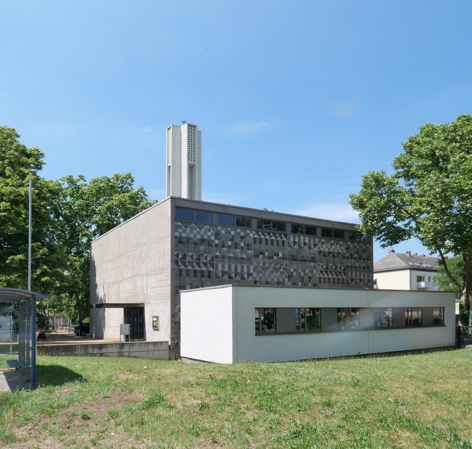 Wiesbaden, Erlöserkirche (Rainer Schell, 1962) (BIld: Peter Frenkel, 2020)
