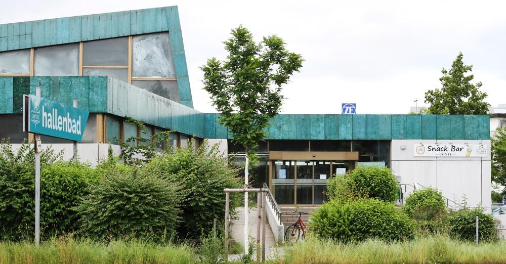 Friedrichshafen, Hallenbad (Bild: Hagen Schönherr, 2018)