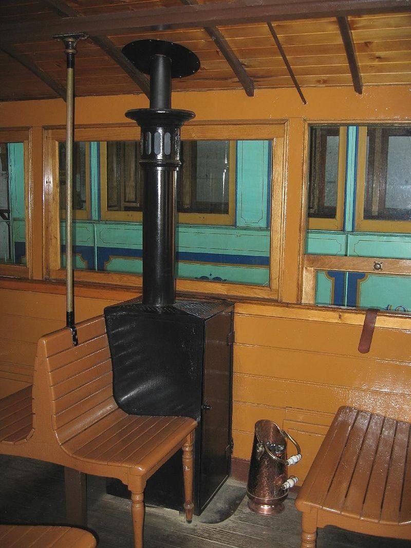 Behaglicher war die Fahrt mit der Süddeutschen Eisenbahngesellschaft Anfang des Jahrhunderts. Auch in der Dritten Klasse fand sich ein warmes Plätzchen (Bild: PD)